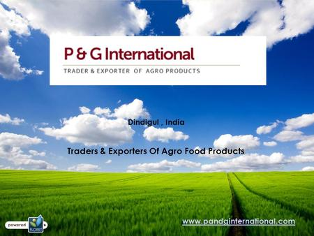 Dindigul, <strong>India</strong> Traders & Exporters Of Agro Food <strong>Products</strong>