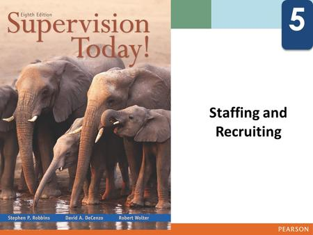 5 5 Staffing and Recruiting Describe the human resource management process Discuss the influence of government regulations on human resource.