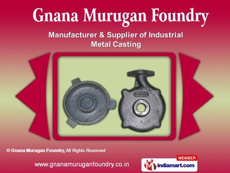 Manufacturer & Supplier of Industrial Metal Casting.