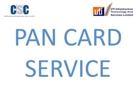 PAN CARD SERVICE. Permanent Account Number(PAN) is a unique number, issued to all the entities identifiable under Indian Income Tax Act 1961.It is equivalent.