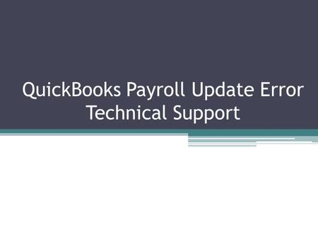 manually download quickbooks payroll update