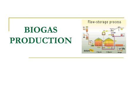BIOGAS PRODUCTION. Introduction Animal and agricultural wastes constitute a high proportion of biomass and their utilization and recycling is important.