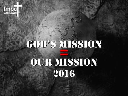 God's Mission Our Mission At Your Name Tim Hughes | Phil Wickham.