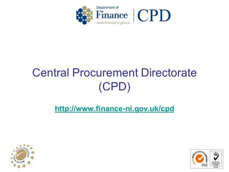 Central Procurement Directorate (CPD)