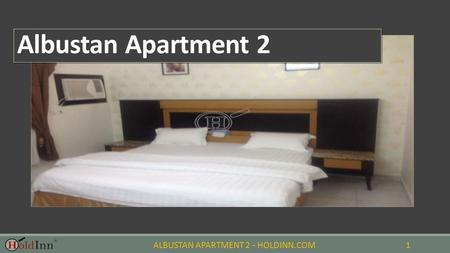 ALBUSTAN APARTMENT 2 - HOLDINN.COM1 Albustan Apartment 2.