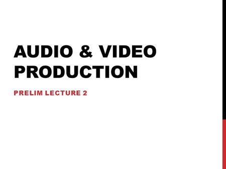 AUDIO & VIDEO PRODUCTION PRELIM LECTURE 2. ADOBE PREMIERE TOOLS PANEL (TOOLBOX) Toolbox The toolbox contains common tools used for editing clips in the.