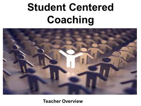 Student Centered Coaching Teacher Overview. Springdale Background & Vision for Coaching.