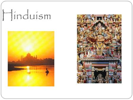 Hinduism. Origins of Hinduism Hinduism, unlike most major religions, does not have a central figure upon whom it is founded. Rather, it is a complex faith.