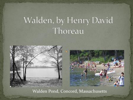 where i lived and what i lived for henry david thoreau essay Henry david thoreau (see name pronunciation july 12 — henry david thoreau, where i lived, and what i lived for, in walden in the essay henry david.