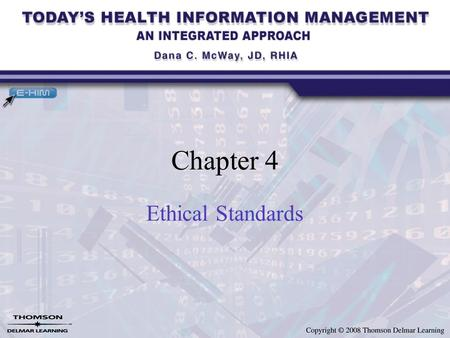 Chapter 4 Ethical Standards. Introduction Limits to what law, regulations, and accrediting standards and requirements can govern In the absence of law,