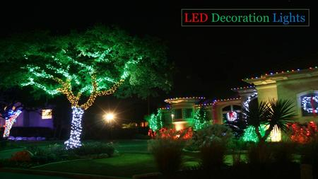 LED Decoration Lights Suppliers in UAE
