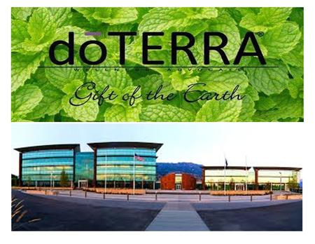 ©2015 dōTERRA Holdings, LLC FAMILY PHYSICIAN ® KIT All words with trademark or registered trademark symbols are trademarks or registered trademarks of.