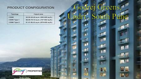  Godrej Greens is a Brand – new Upcoming Apartment Project developed by well known real estate Developer, Godrej Properties Limited. Godrej Greens 