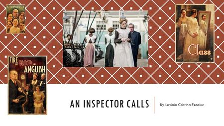 AN INSPECTOR CALLS By Lavinia Cristina Fenciuc. SOCIAL RESPONSIBILITY – Eva Smith SOCIAL RESPONSIBILITY – Eva Smith Social responsibility is one of the.