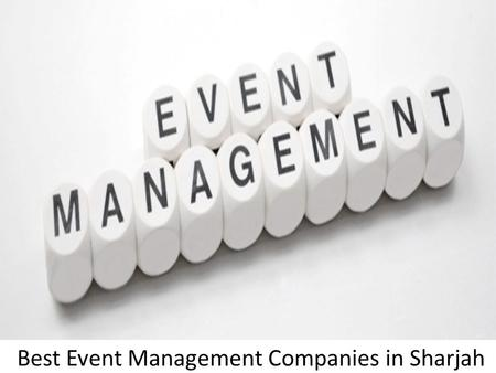 Event Planning & Management in Abu Dhabi