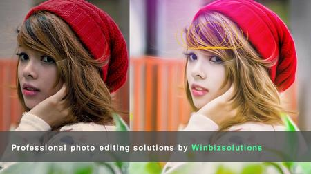 Professional photo editing solutions by Winbizsolutions.