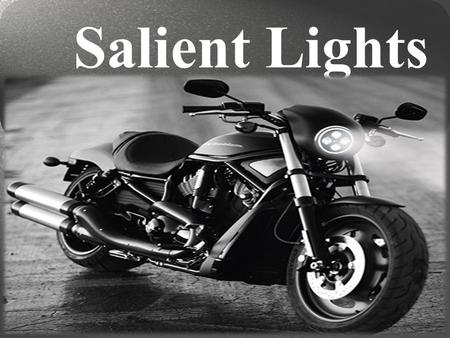 Choose Your Led Projector Headlights for Your Motorcycle by Salient Lights