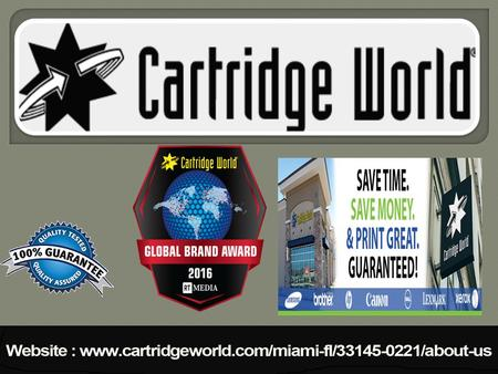 Cartridge World makes printing easy. If you need printers, copiers, ink, toner, service or advice for home or business printing, talk to us. We're local.
