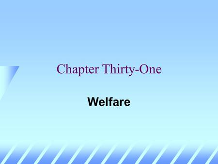 Chapter Thirty-One Welfare Social Choice u Different economic states will be preferred by different individuals. u How can individual preferences be.