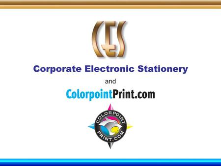 Corporate Electronic Stationery and. We are a Full Service Trade Printer specializing in corporate identity and stationery products, as well as short.