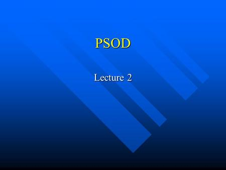 PSOD Lecture 2. MathCAD – vectors and matrix Matrix operations Matrix operations –Multiply by constant –Matrix transpose [ctrl]+[1] –Inverse [^][-][1]