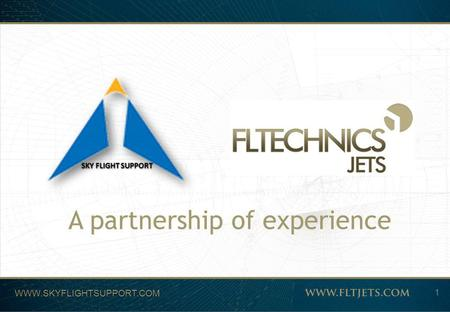 A partnership of experience SKY FLIGHT SUPPORT 1 WWW.SKYFLIGHTSUPPORT.COM.