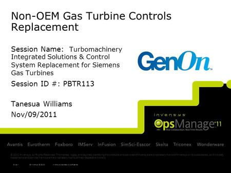 Non-OEM Gas Turbine Controls Replacement