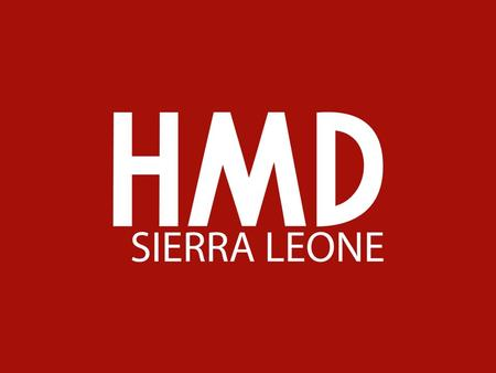 HMD SIERRA LEONE (Heavy Machinery Dealership Sierra Leone Ltd.) managed by AIG (Africa International Group) is the new leading machinery and equipment.