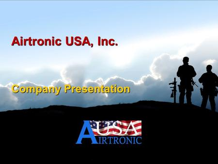 Airtronic USA, Inc. Company Presentation. Agenda.