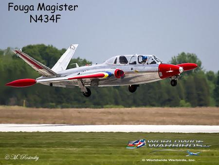 Fouga Magister						N434F.