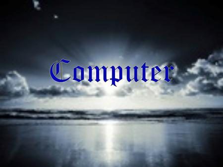 Technically, a computer is a programmable machine. This means it can execute a programmed list of instructions and respond to new instructions that.