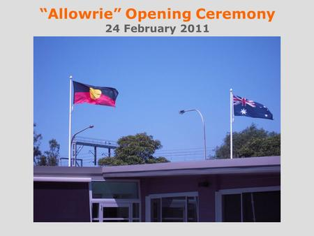 Allowrie Opening Ceremony 24 February 2011. L to R: Noreen Hay MP with Fiona Abercrombie, Col Gellatly & Jane Byrne from Pillar.