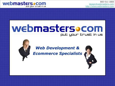 800-511-1800   Web Development & Ecommerce Specialists.