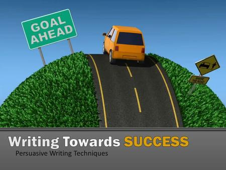 Writing Towards SUCCESS