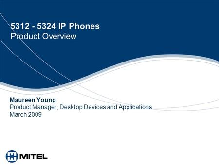 IP Phones Product Overview