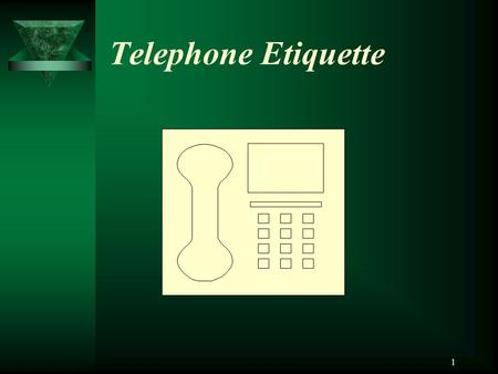 1 Telephone Etiquette. 2 Using the Telephone Effectively and Courteously Answer the phone before the third ring. Answer calls and return missed calls.
