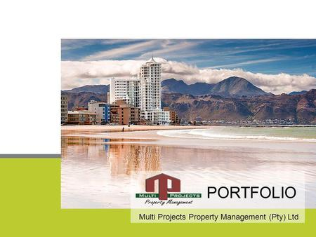 PORTFOLIO Multi Projects Property Management (Pty) Ltd.