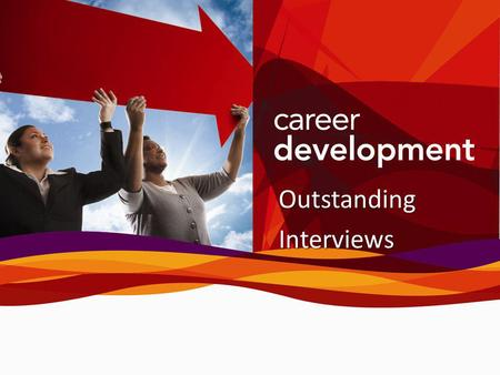 OutstandingInterviews. Agenda Purpose of an Interview Types of Interviews Prepare for the Interview Types of Interview Questions Choose References After.