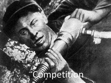 Competition. The Stakhanov Record Aim of the Stakhanov record was to motivate others to want to work harder and improve. They were given incentives to.