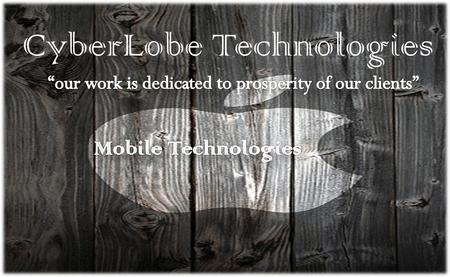CyberLobe Technologies. About CyberLobe CyberLobe Technologies is an emerging outsourcing leader and one of the most promising web development companies.
