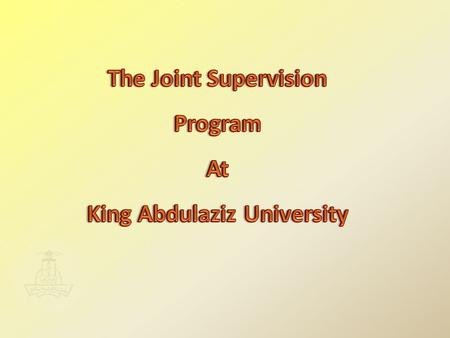Introduction Introduction King Abdulaziz university ha always been employing all efforts possible in order to ensure the success of its student that.