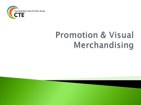 Promotion & Visual Merchandising