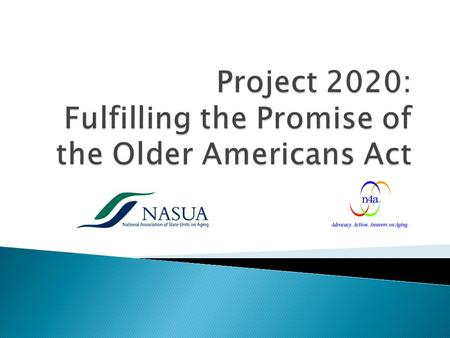 2 Winter meetings of NASUA and n4a Boards have met dozens of times to hammer out agreements Reauthorization of Older Americans Act language Seeking appropriations.