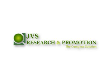 JVS Research & Promotions is a company having a fair Knowledge in the field of Market Research. The founder Members and associates are working from last.