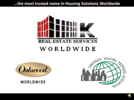 Oakwood is a U.S based company, and is the leading provider of temporary housing in the world, owning 75% of the relocation market with 85% of third-party.