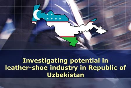 Investigating potential in leather-shoe industry in Republic of Uzbekistan.