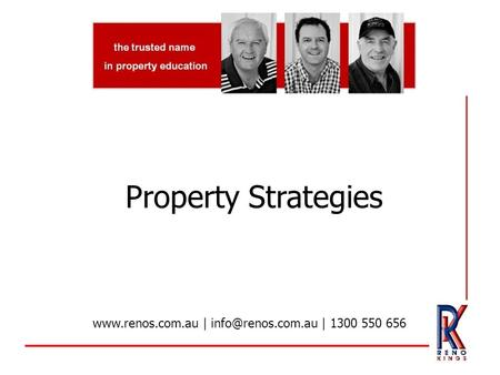 Property Strategies  | | 1300 550 656.