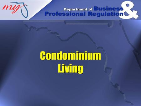 Condominium Living. A condominium is a form of real property ownership in which an individual owns a unit exclusively and owns common elements jointly.