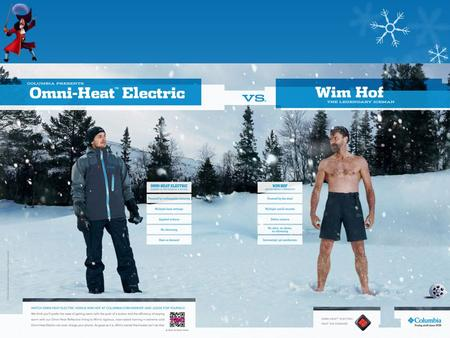 Do you think 'The Iceman' can really will himself to be warmer