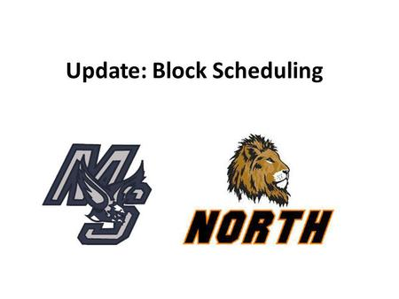 Update: Block Scheduling. Positive Impact Since the implementation of the Block scheduling in September 2012 to the present, November 2013, both high.